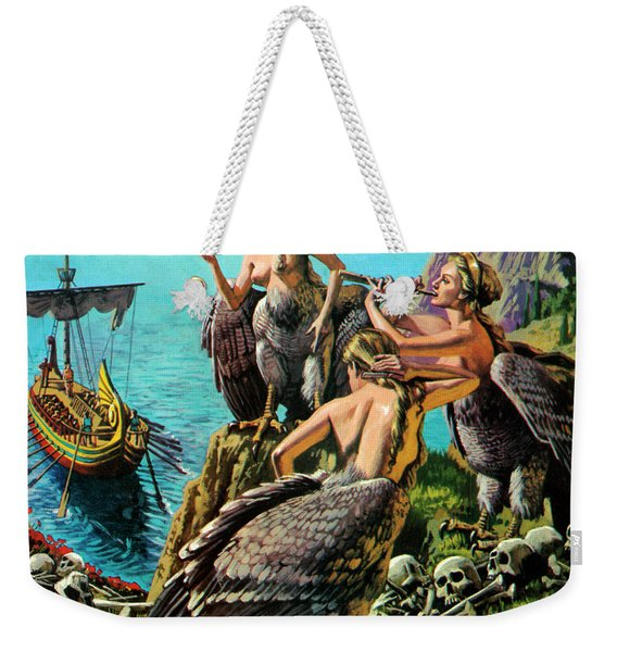 Odysseus And The Sirens Weekender Tote Bag
