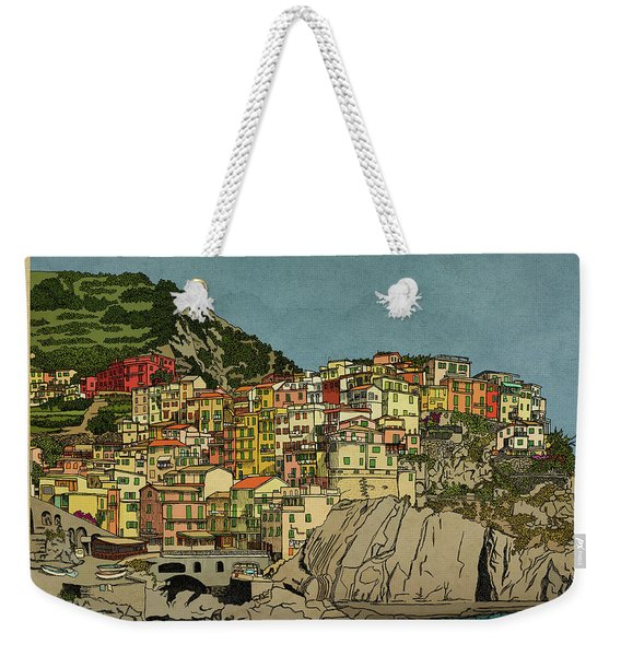 Of Houses And Hills Weekender Tote Bag