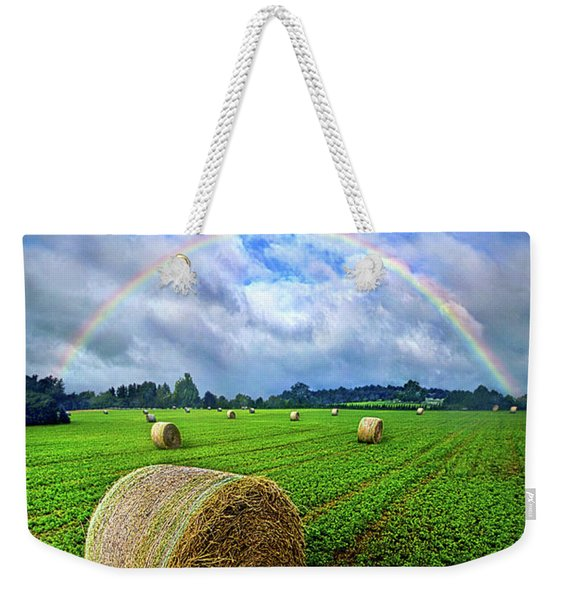 Of The Light So Pure And True Weekender Tote Bag