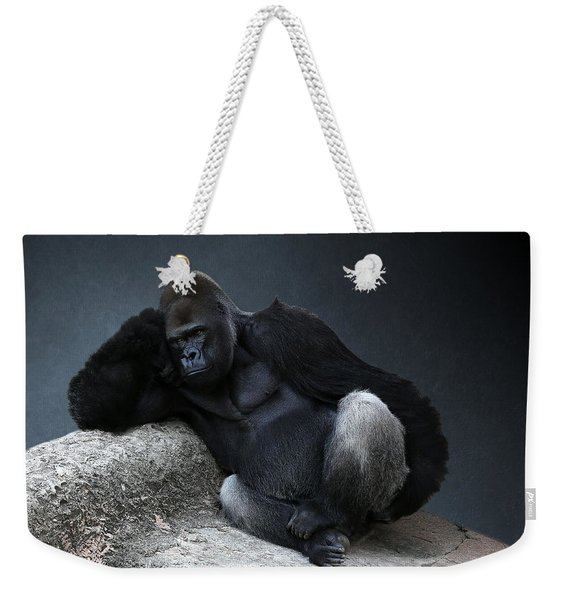 Off Duty Gorilla Weekender Tote Bag