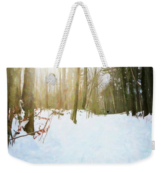 Off The Beaten Path Weekender Tote Bag