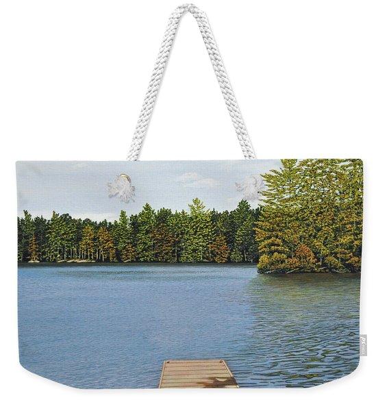 Off The Dock Weekender Tote Bag