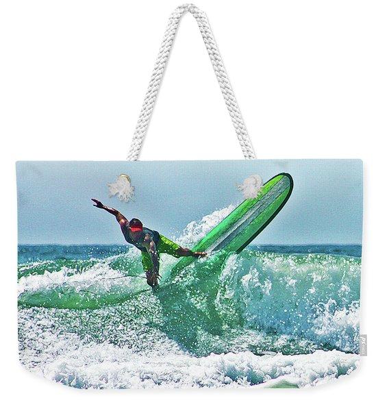 Off The Top Weekender Tote Bag