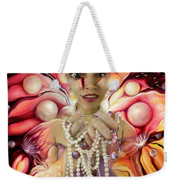Offerings ... Of A Soul Explosion Weekender Tote Bag