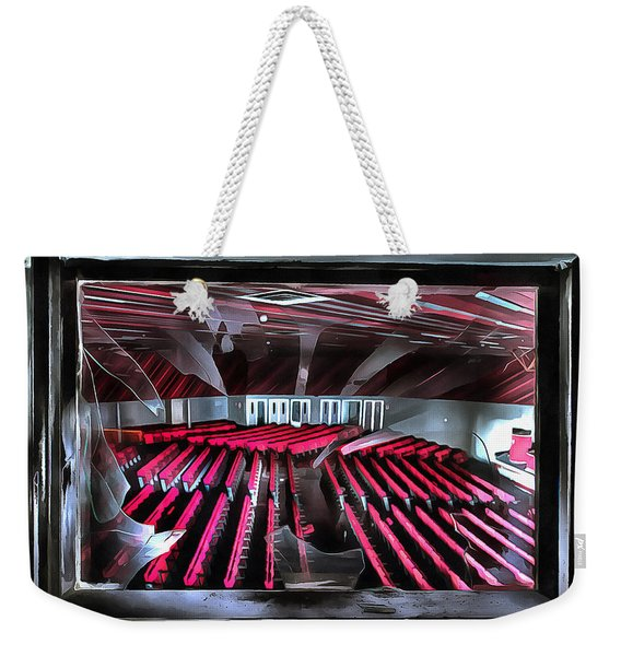 Office Building Congress Center - Centro Congressi Palazzo Abbandonato Weekender Tote Bag