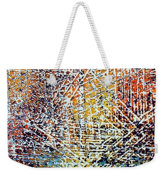 19-offspring While I Was On The Path To Perfection 19 Weekender Tote Bag