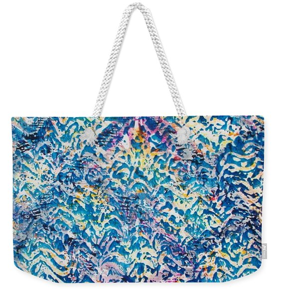 32-offspring While I Was On The Path To Perfection 32 Weekender Tote Bag