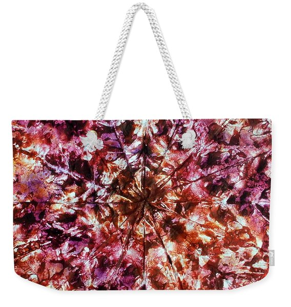 38-offspring While I Was On The Path To Perfection 38 Weekender Tote Bag