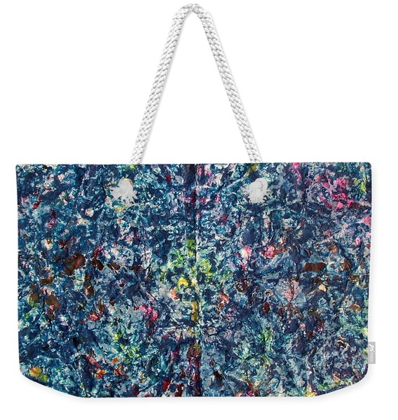 46-offspring While I Was On The Path To Perfection 46 Weekender Tote Bag