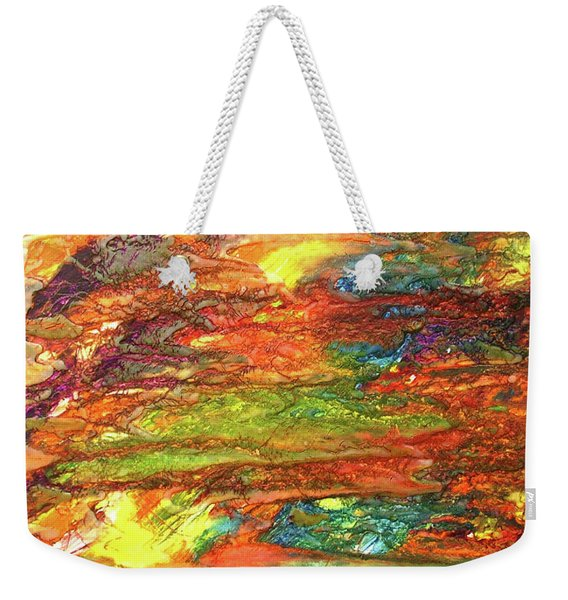 5-offspring While I Was On The Path To Perfection 5 Weekender Tote Bag