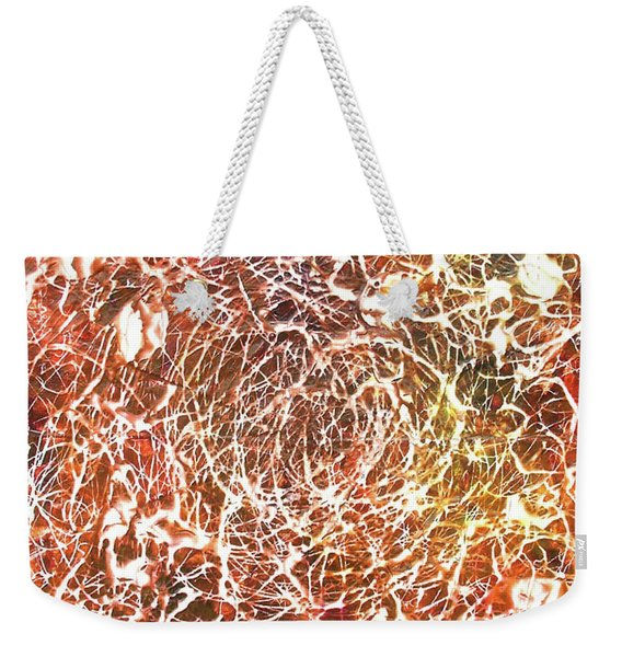 7-offspring While I Was On The Path To Perfection 7 Weekender Tote Bag