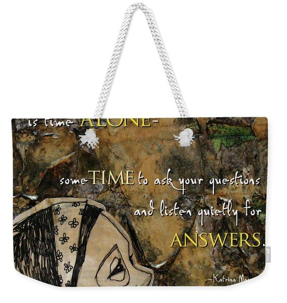 Often... The Best Gift Weekender Tote Bag