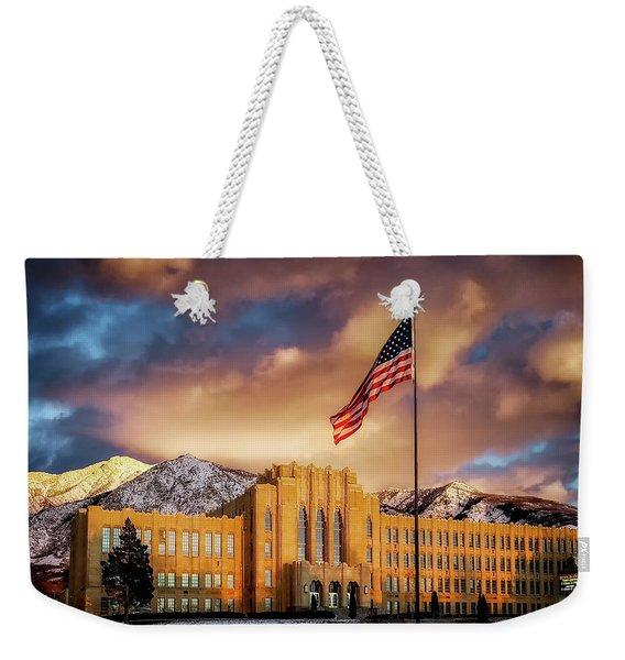 Ogden High School At Sunset Weekender Tote Bag