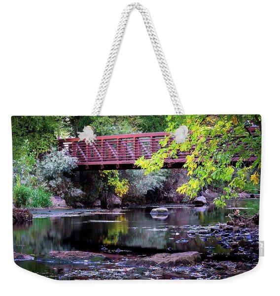 Ogden River Bridge Weekender Tote Bag