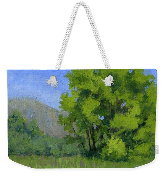 Ogden Valley Meadow Weekender Tote Bag