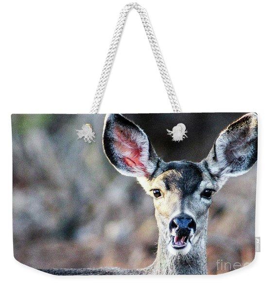 Oh, Deer Weekender Tote Bag