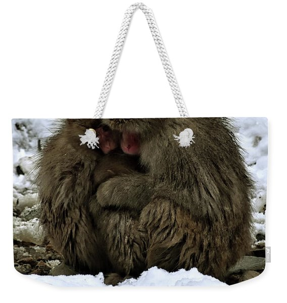 Oh Mummy It's Cold Weekender Tote Bag