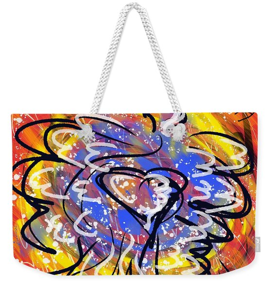 Oh, Winged World Weekender Tote Bag