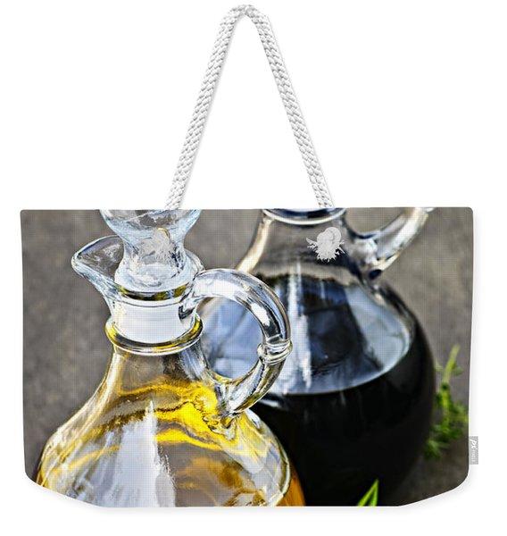 Oil And Vinegar Weekender Tote Bag