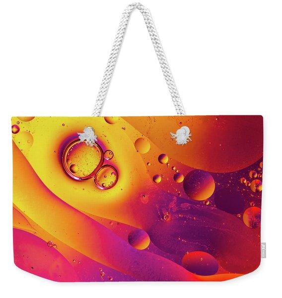 Oil And Water 8 Weekender Tote Bag