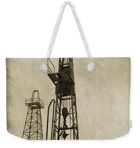 Oil Derrick Vi Weekender Tote Bag