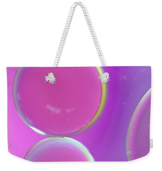 Oil On Water Abstract Weekender Tote Bag
