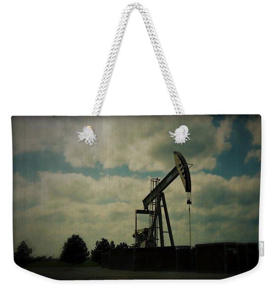 Oil Pumpjack Holga Weekender Tote Bag