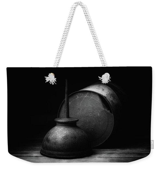 Oil Weekender Tote Bag