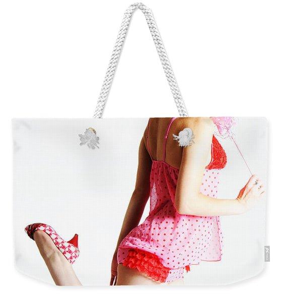 Ok But Say Please Weekender Tote Bag