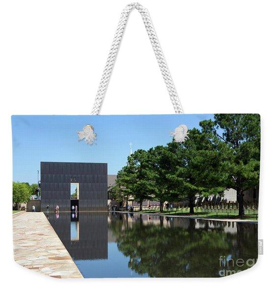 Oklahoma City National Memorial Bombing Weekender Tote Bag