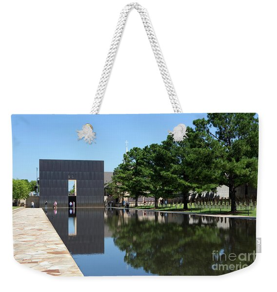 Oklahoma City National Memorial Bombing Weekender Tote Bag