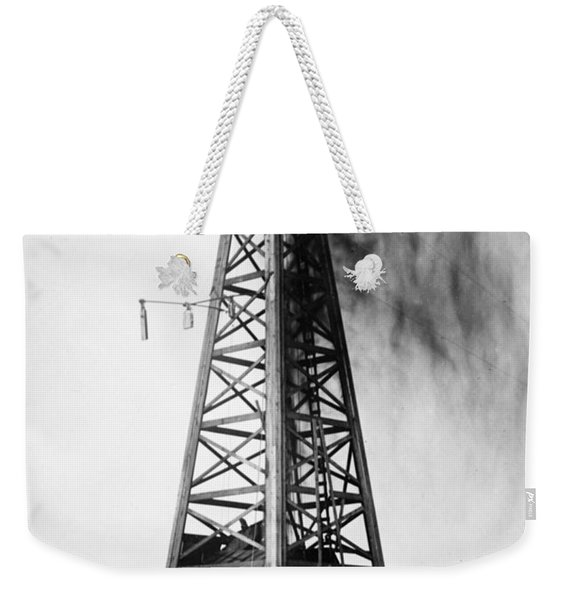 Oklahoma: Oil Well, C1922 Weekender Tote Bag