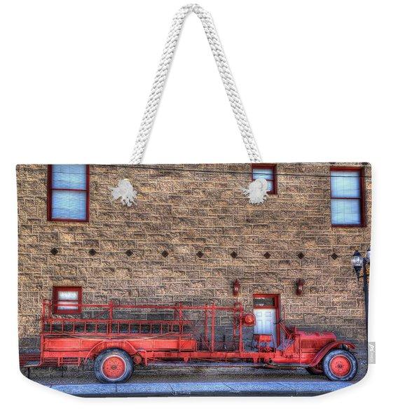 Ol' Red Number 3 Weekender Tote Bag