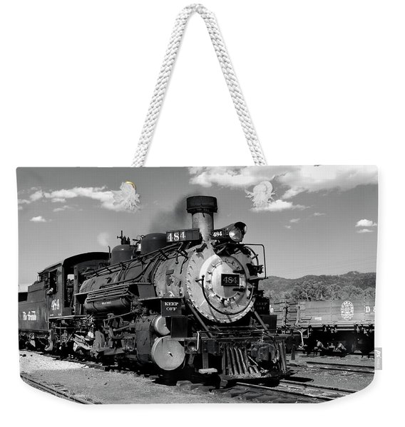 Weekender Tote Bag featuring the photograph Old 484 I by Ron Cline