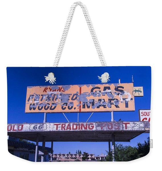 Old 66 Trading Post Weekender Tote Bag