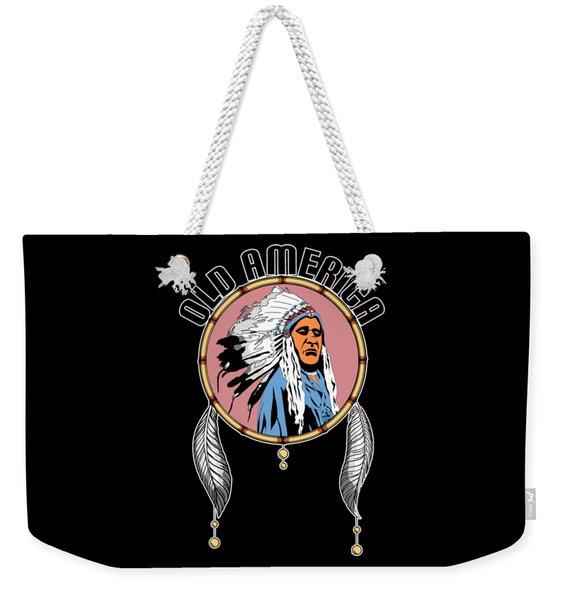 Old Amercia Weekender Tote Bag