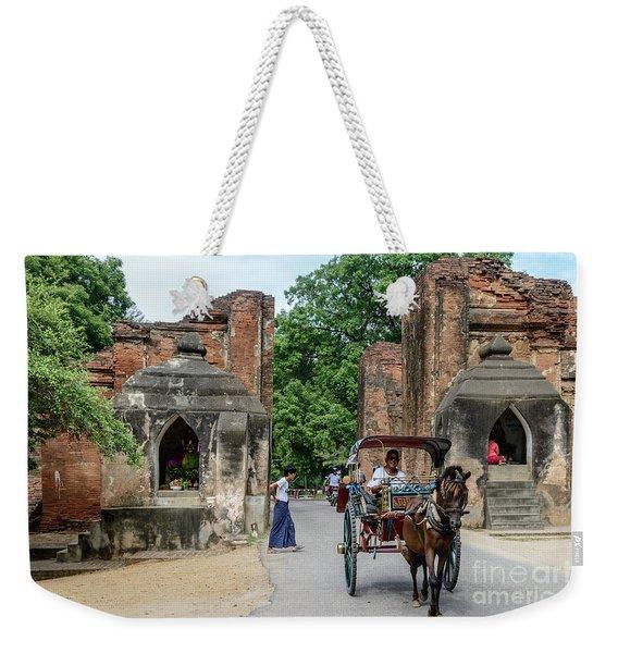 Old Bagan Weekender Tote Bag