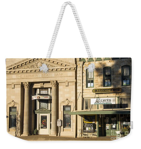 Old Bank - New Museum Weekender Tote Bag