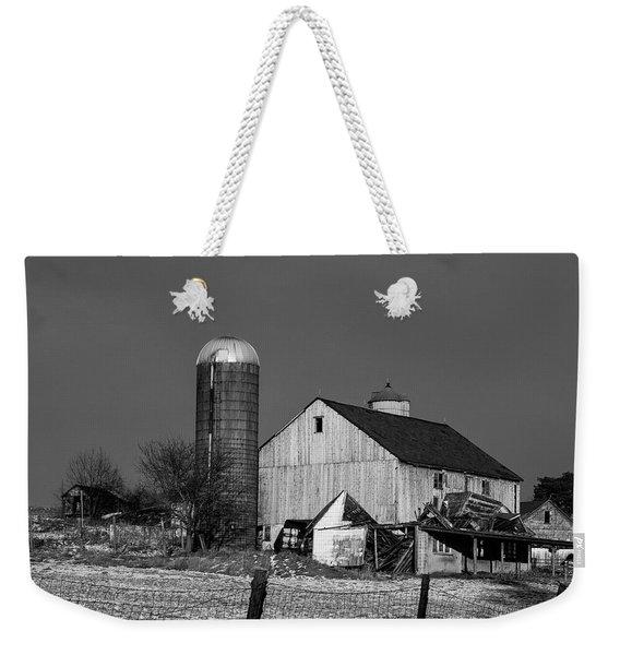 Old Barn 1 Weekender Tote Bag