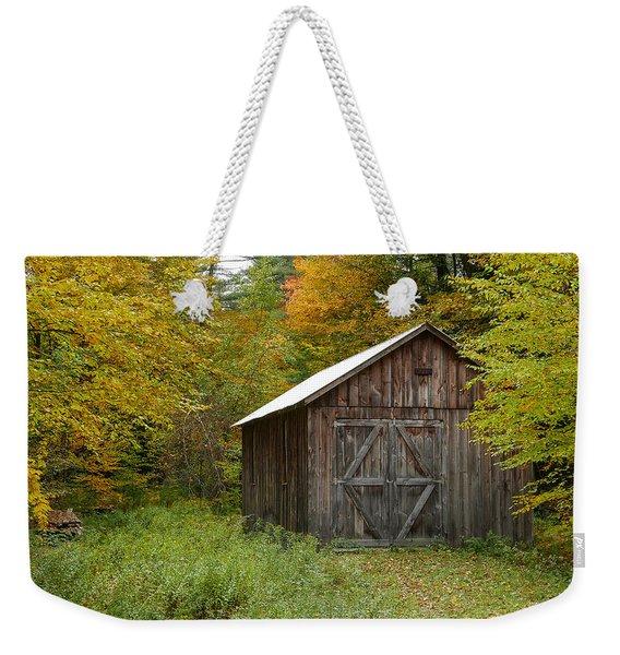 Old Barn New England Weekender Tote Bag