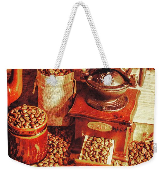 Old Bean Mill Decor. Kitchen Art Weekender Tote Bag