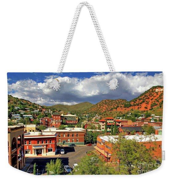 Old Bisbee Arizona Weekender Tote Bag