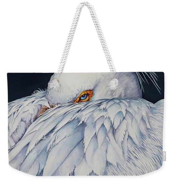 Old Blue Eyes Weekender Tote Bag