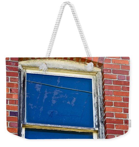Old Brick Building Weekender Tote Bag