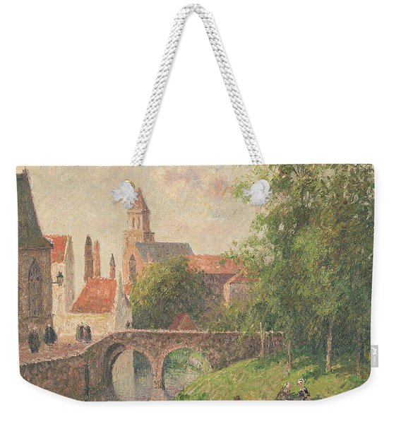 Old Bridge In Bruges  Weekender Tote Bag