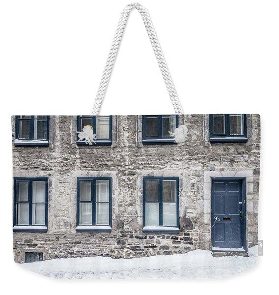 Old Building In Quebec City Weekender Tote Bag