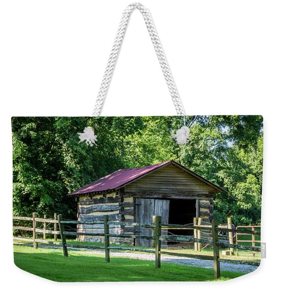 Old Building - The Hermitage Weekender Tote Bag