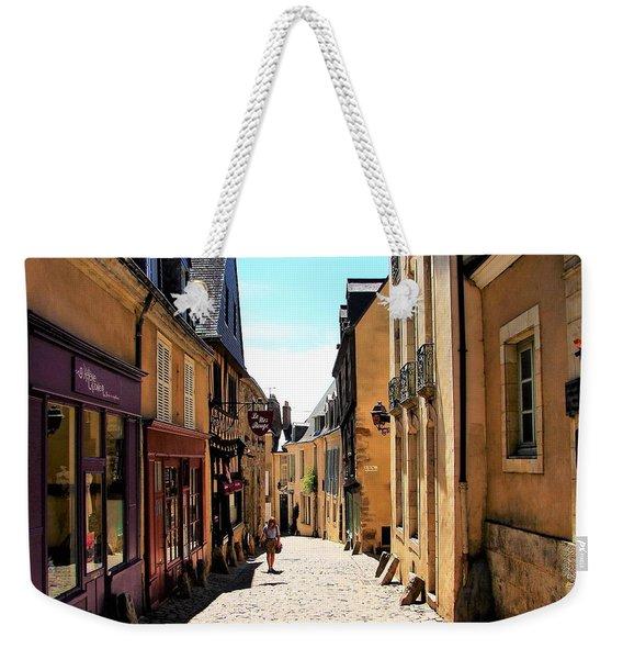 Old Buildings In France Weekender Tote Bag