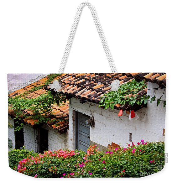 Old Buildings In Puerto Vallarta Mexico Weekender Tote Bag