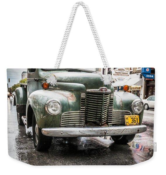 Old But Rolling Weekender Tote Bag